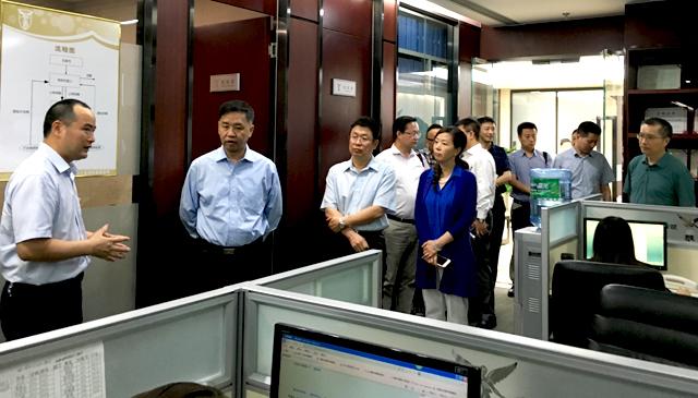 国家知识产权局甘绍宁副局长率队调研行之知识产权
