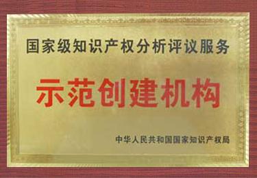 国家级知识产权分析评议服务示范创建机构